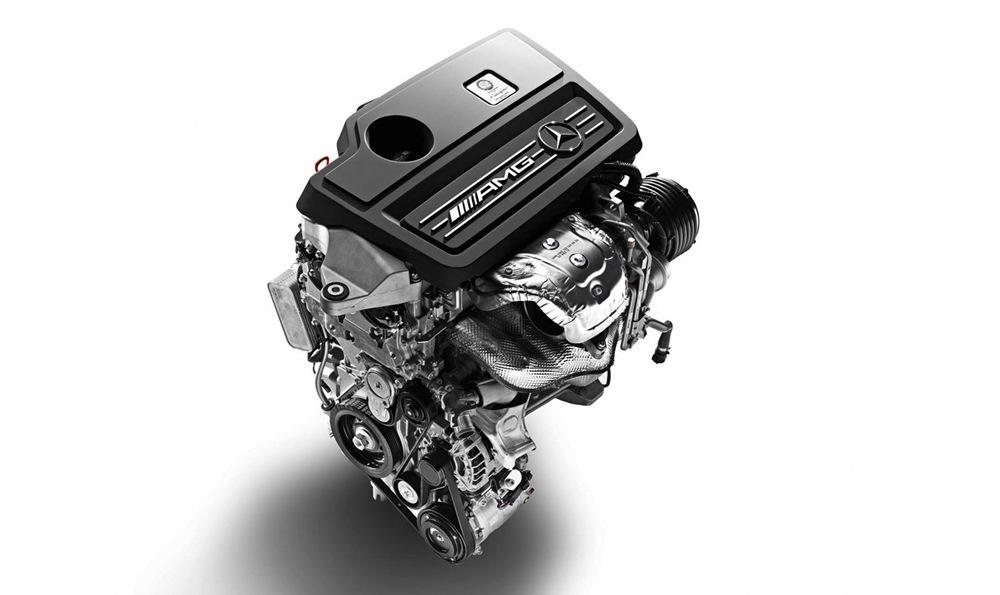Moteur Mercedes-AMG 2 litres