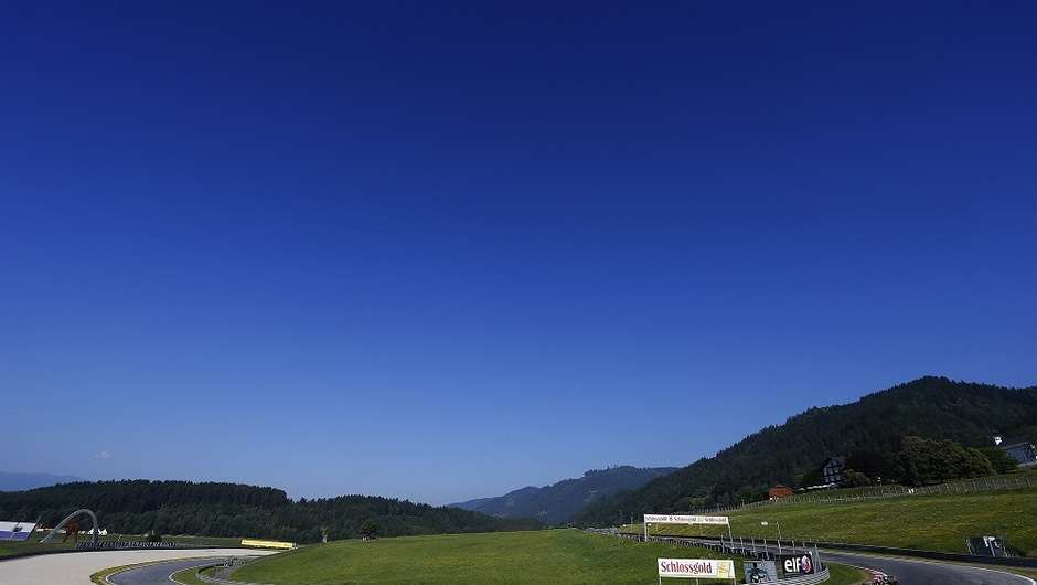 Spielberg race track