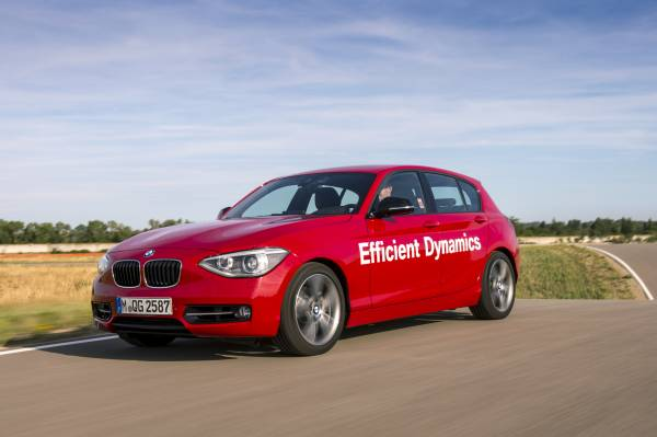 BMW Série 1 avec technologie d'injection directe d'eau