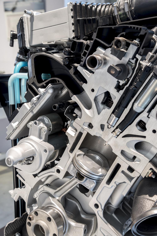 Technologie d'injection directe d'eau BMW