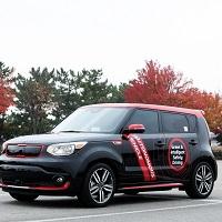 Autonomous Kia Soul EV
