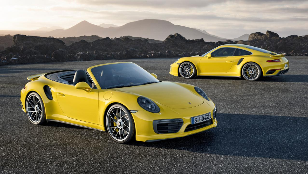911 Turbo S and 911 Turbo S cabriolet