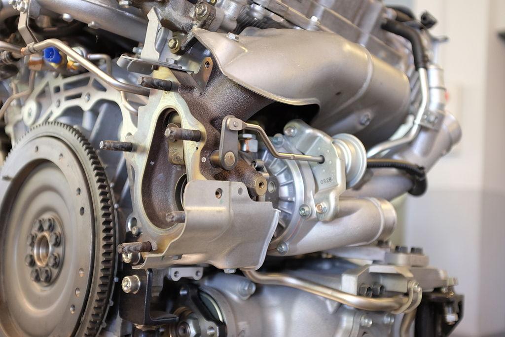 Nissan VR41DETT Engine at Nissan Engine Museum