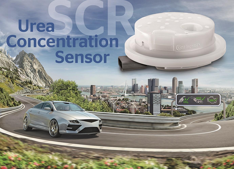 Continental urea sensor