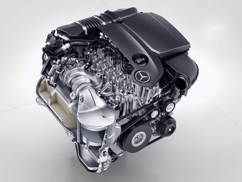 The new Mercedes-Benz four-cylinder diesel engine OM 654