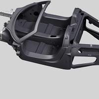 Porsche 918 Spyder Carbon chassis