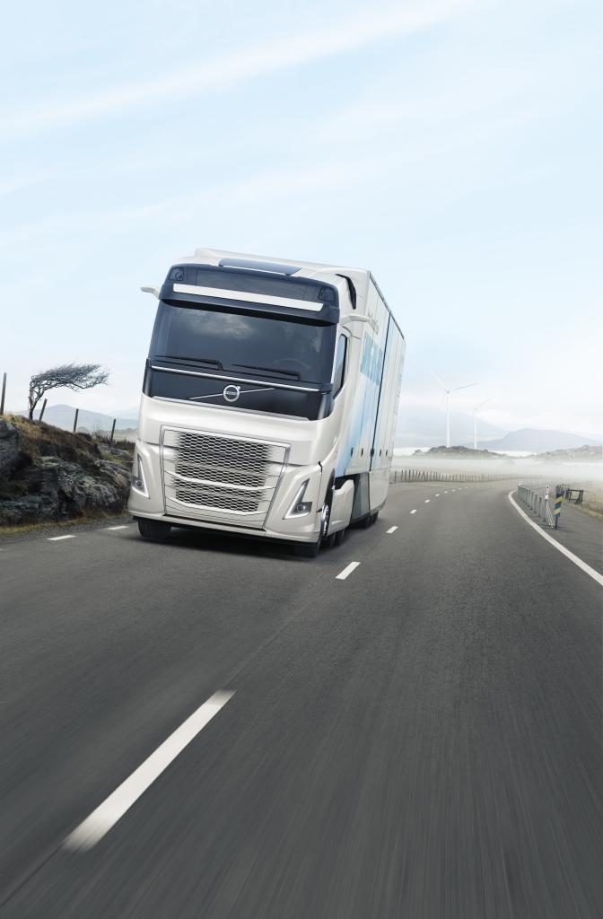 Volvo Concept Truck vu de face