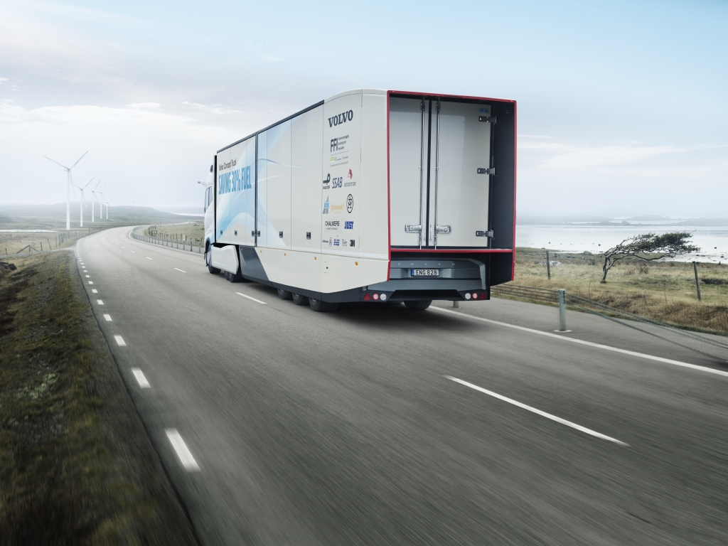 Volvo Concept Truck trailer