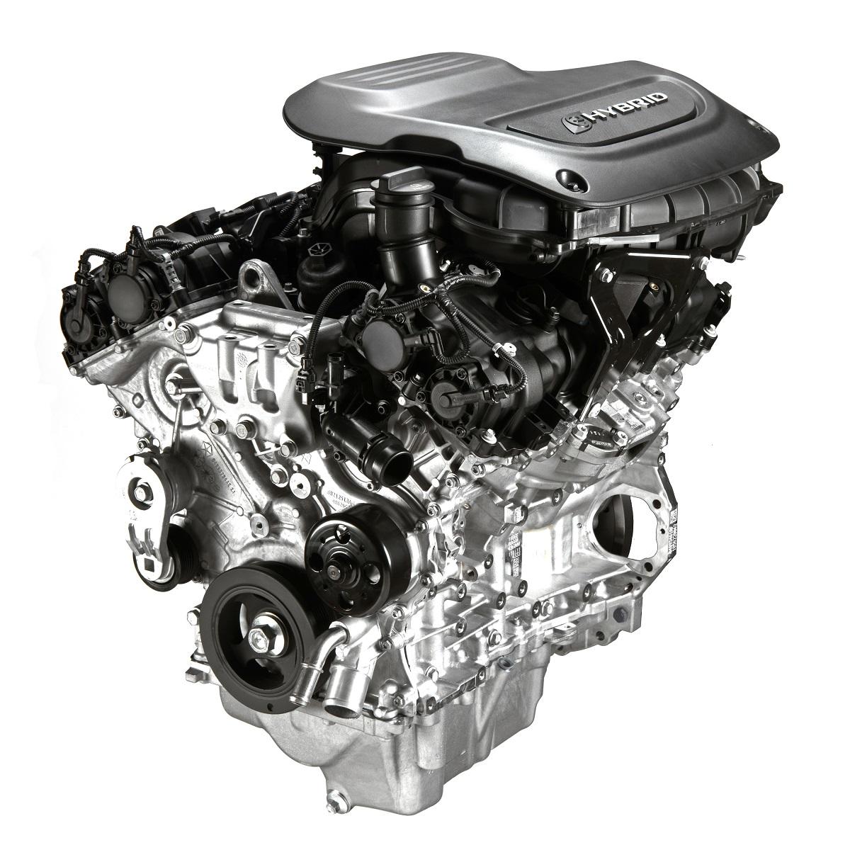 Chrysler Pacifica hybrid Pentastar engine