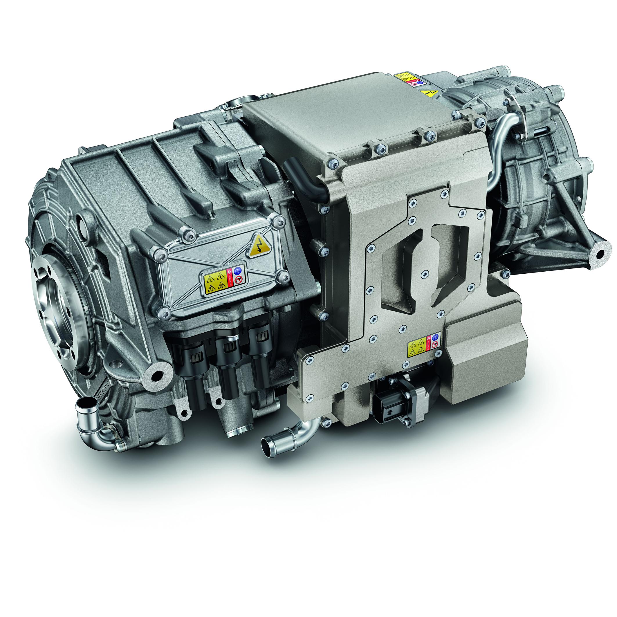 48V electric rear axle