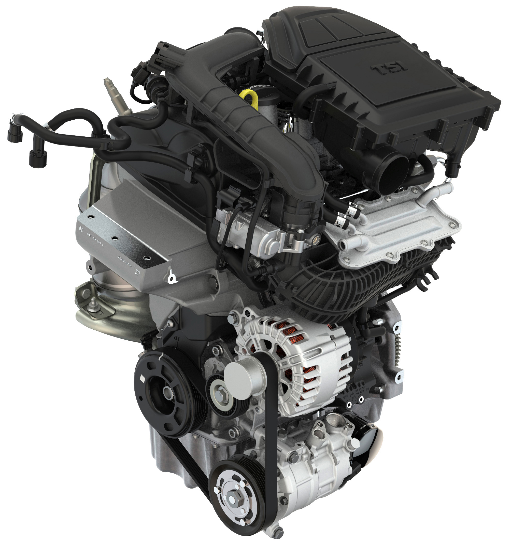 Skoda Fabia 1.0l TSI engine