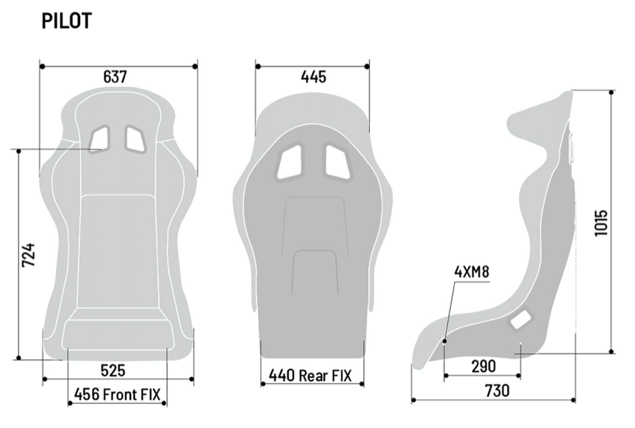 2020 SPARCO QRT PILOT RACING SEAT - miki-motorsports