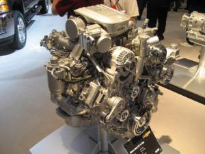 best duramax engine on display