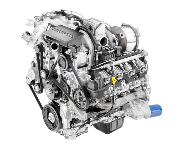 New Duramax 6.6L Diesel Introduced on 2017 Sierra HD