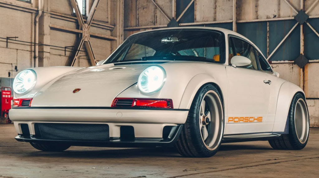 Porsche 911 reimagined by Singer and Williams | Top Gear - YouTube