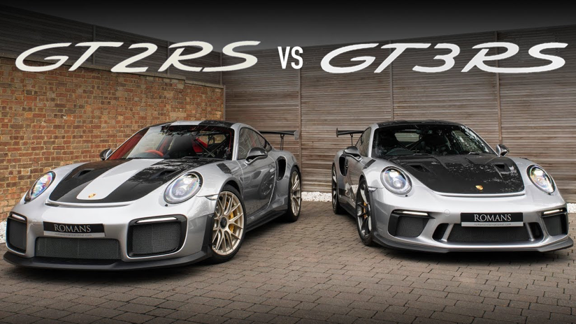 Battle of the Weissachs - GT3 RS vs GT2 RS - YouTube