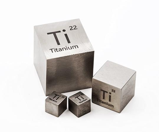 Titanium 1 Inch Metal Density Cube 99.9% Pure: Amazon.com ...