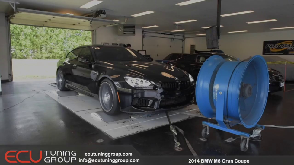 ECU Tuning Group   BMW M6 Gran Coupe ECU Tune - YouTube